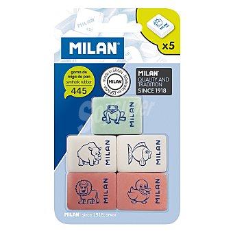 Milan Gomas de Borrar Milan 445 Pack 5