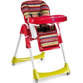 BEBE DUE Otto silla trona multicolor con varias posiciones