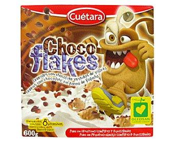 Cuétara Cereales Chocoflakes 600 Gramos