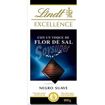 Lindt Chocolate negro excellence punto de sal 100 g