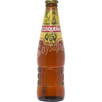 Cusqueña Cerveza rubia peruana Botella 33 cl