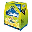 Cerveza sin alcohol con limón Pack 6x25 cl Dorada
