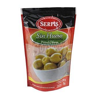 Serpis Aceituna sabor manzanilla sin hueso 75 g