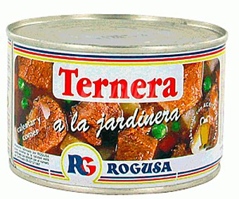 Rogusa Ternera a la jardinera 380 g