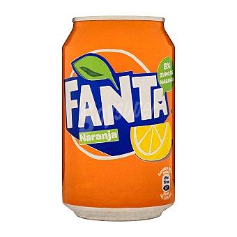 Fanta Refresco de naranja Lata de 33 cl