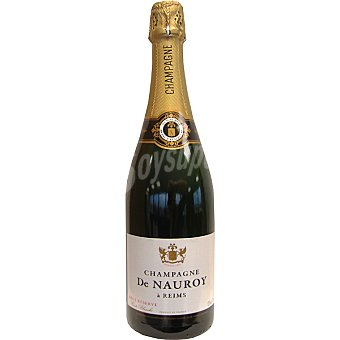 DE NAUROY champagne brut reserva botella 75 cl