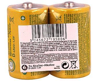 LR PRODUCTO ECONÓMICO Paquete de 2 pilas alcalinas del tipo alcampo