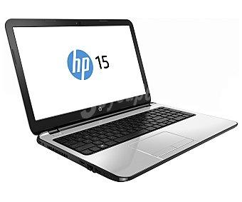 HP 15-r005ns Ordenador portátil con pantalla de 15,6'' HP pavilion 15-r005ns, Procesador: Intel Celeron N2830 Dual Core 2,16GHz, Ram: 8GB, Disco duro: 1TB, Gráfica: Intel Portátil 15,6''
