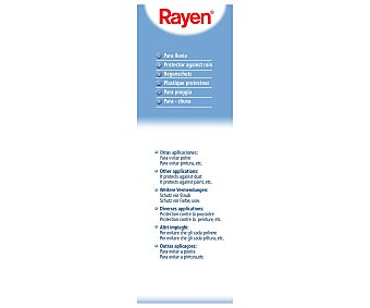 Rayen Funda de plástico para proteger de la lluvia la ropa tendida, aroma a limón, 135x260 centímetros 1 Unidad