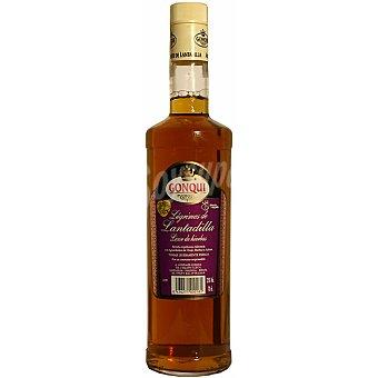 GONQUI Lágrimas de Lantadilla licor de hierbas  botella 70 cl