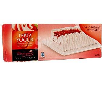 Menorquina Tarta de yogur con salsa de fresas 1L