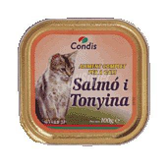 Condis Comida gato salmon-atun 100 GRS