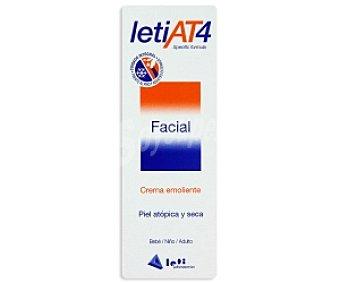 Leti at4 Crema facial, emoliente, pieles atópicas y secas 50 Mililitros