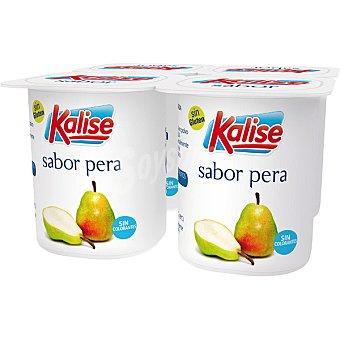 Kalise Yogur sabor pera pack 4 unds. 125 g Pack 4 unds. 125 g