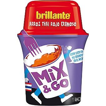 Brillante Arroz thai rojo cremoso Mix&Go Bote de 360 g