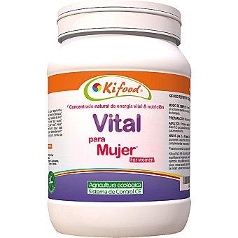 KIFOOD Concentrado natural de Energía Vital para mujer Bote 1,2 kg