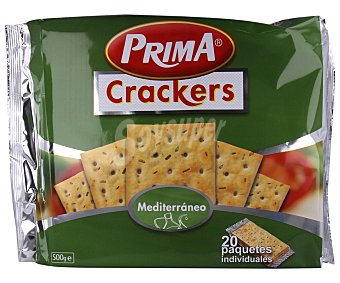 Prima Crackers Mediterráneo 500 g