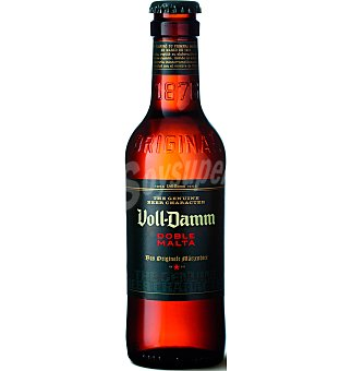 Voll-Damm Cerveza doble malta Botellín 25 cl