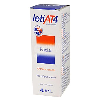 Leti Crema Facial para Piel Atópica Leti At-4  Tubo 50 ml