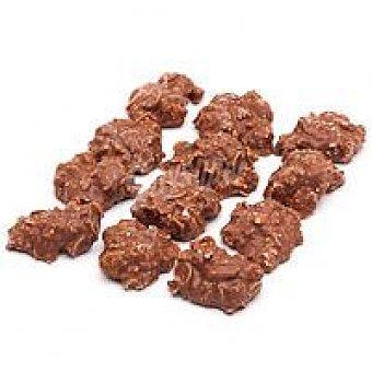La Estepeña Rocas de chocolate y almendra Bandeja 170 g