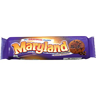 Maryland Cookies con doble chocolate paquete 145 g Paquete 145 g