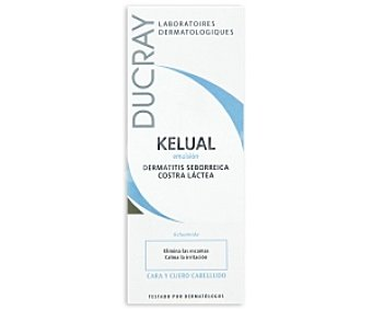Kelual Ducray Emulsión, elimina las escamas y calma la irritación 50 Milillitros