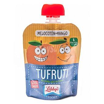 Libby's Tufruti de melocotón y mango en bolsita 90 g