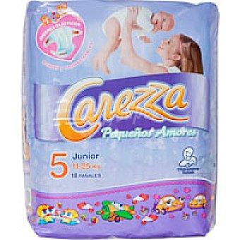Carezza Pequeños Amores Pañales 11-25kg Talla 5 Paquete 18u