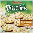 Mini pizzas Piccolinis 3 formaggi 9 unidades (270 g) Buitoni Piccolinis