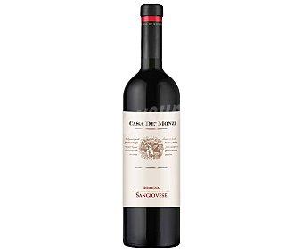 CASA DE´MONZI Vino tinto elaborado en Italia con denominación de origen controlada Sangiovese di Romagna Botella de 75 cl