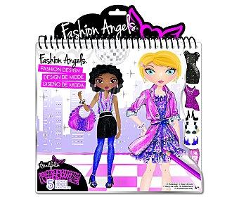 CIFE Cuaderno con 5 plantillas para que juegues a ser diseñadora de moda 1 unidad