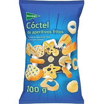 El Corte Inglés Coctel de aperitivos fritos Bolsa 100 g