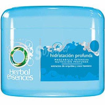 Herbal Essences Mascarilla hidratación profunda con extractos de Orquídea y Coco Hawaiano  para cabello seco y dañado Tarro 200 ml