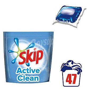Skip Detergente maquina liquido Active Clean envase 47 dosis Envase 47 dosis