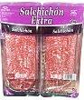 Salchichón suave extra lonchas  Pack 4 x 50 g (200 g) Hacendado