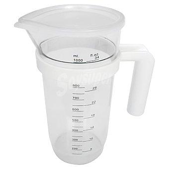TECNHOGAR Jarra medidora de plástico 1 l