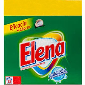 Elena Detergente en polvo Maleta 38+6 cacitos