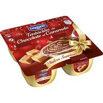 DANONE Dulces Sonrisas Chocolate-caramelo Pack 4x115 g
