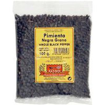 LA LLAVE Pimienta negra en grano Bolsa 100 g