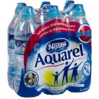 Aquarel Nestlé Agua mineral 6x50cl