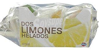 Hacendado Helado fruta limón natural relleno Caja de 2 unidades (230 ml)
