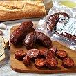 """Chorizo extra picante de """"El Bierzo"""" Bandeja de 230.0 g. La Encina"""