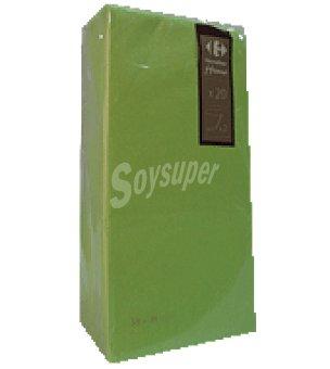 Carrefour Servilletas 38x38 cm 2 capas verde carrefour 20 ud