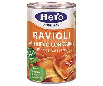 Hero Raviolis al huevo con carne 420 gramos