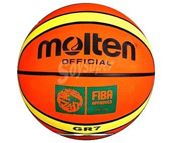 MOLTEN Balón de Baloncesto oficial de la fiba del campeonato europeo de baloncesto 1 Unidad