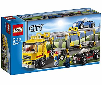 LEGO Juego de Construcciones City, Camión Transporte de Coches, Modelo 60060 1 Unidad