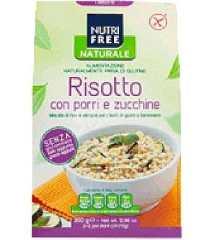 Nutri Free Risotto con puerros y calabacín sin gluten 350 g