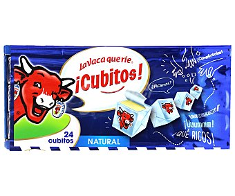 La Vaca que ríe Cubitos de queso Envase 125 g (24 uds)