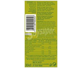 Schweppes Refresco de limón Pack 6 Unidades de 33 Centilitros
