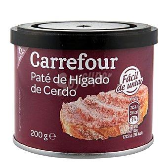 Carrefour Paté de higado de cerdo 200 g